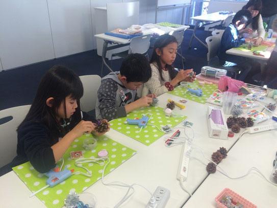みんな集中して作業しています!
