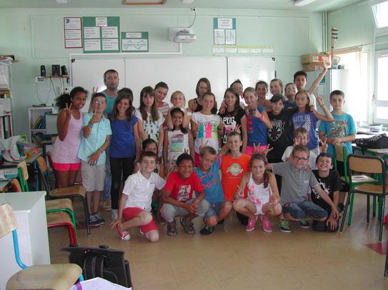 Les enfants de l'Ecole Jules Simon