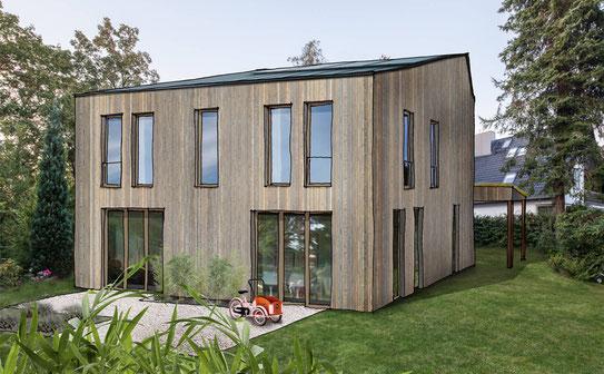 Vorgefertigter Holzbau | Typ III Einfamilienhaus