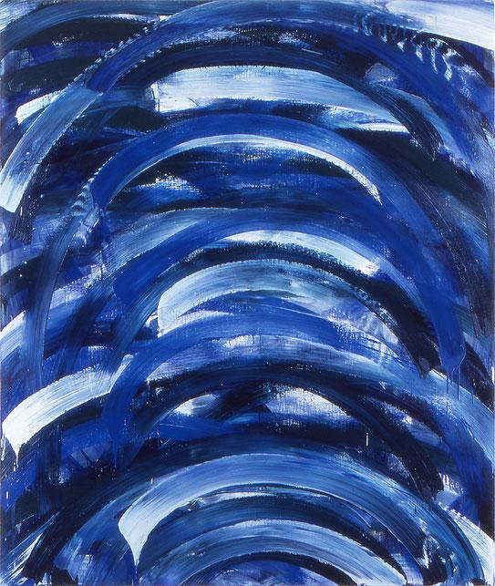 徴候Ⅰ   oil on canvas 194×162cm
