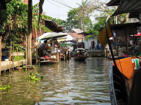 Bangkok - the Floating Markets