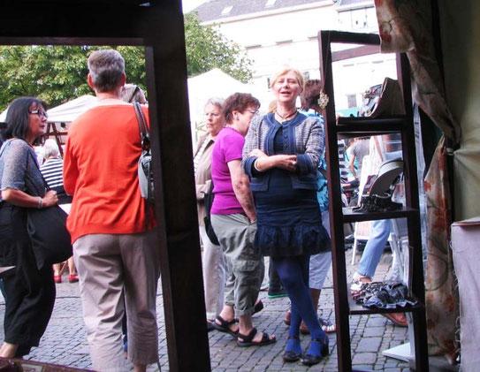 Monelle accueille de nombreux visiteurs à AACHEN