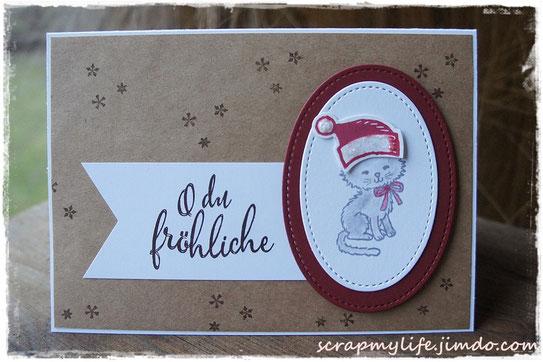 stampin up - weihnachten - Pretty Kitty