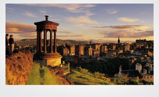 Edinburgh Scotland, top destinations in Europe