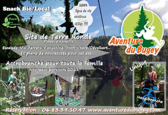 Accrobranche Dans L Ain Parc Aventure Du Bugey