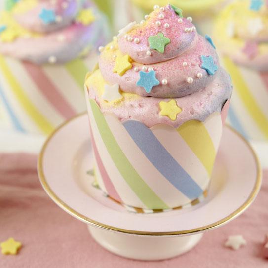 Einhorn-Kacki-Cupcake