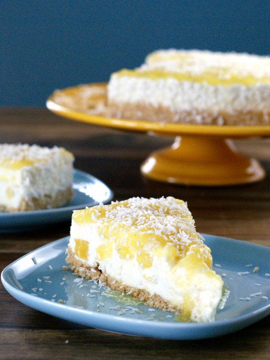 NoBake-Kokos-Ananas-Torte