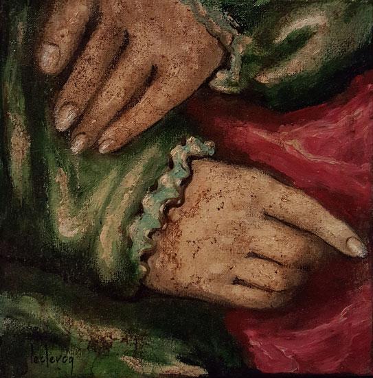 bernadette leclercq artiste peinture