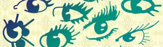 pinceles para photoshop de ojos brushes cs2 cs3 cs4 cs5