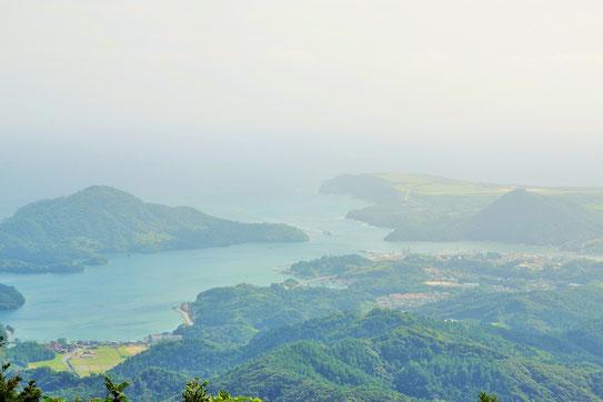 隠岐 大満寺山 頂上風景
