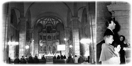 Luis Mariano église Alsasua