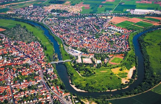 Ilvesheim Luftperspektive © Kreutzer, Rhein Neckar Zeitung