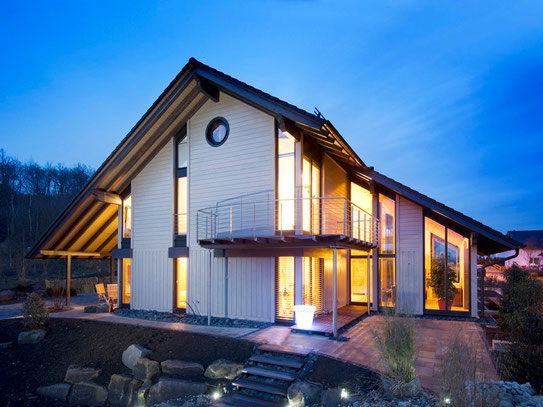 Luxurious kit home - bespoke design - energy efficient eco home