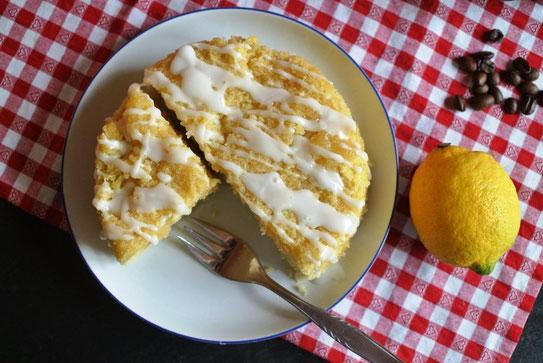 Mikrowelle - Zitronenkuchen