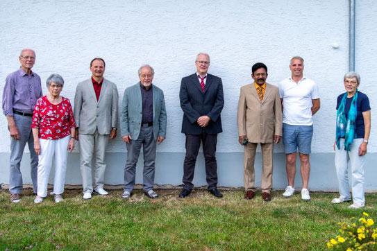 ... und einige Freunde und Mitglieder bei der letzten Mitgliederversammlung.