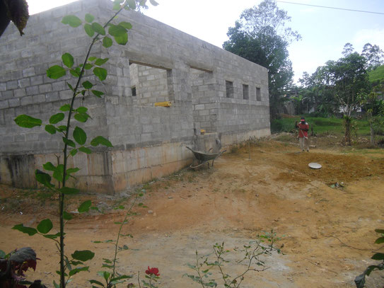 Das Ausbildungszentrum Anfang 2014
