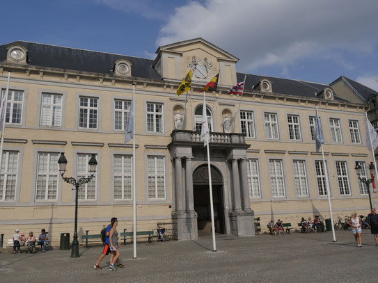Belgien, Brügge Gerichtsgebäude