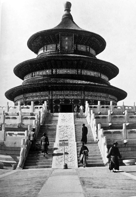 The Temple of Heaven, Beijing - 1937