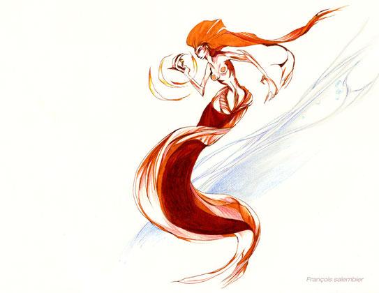 salembier-francois-illustrateur-auteur-de-bd-scénariste-freelance-sirene-mystique-etrange-françois-salembier-illustrateur-personnage-charadesign-chara-design