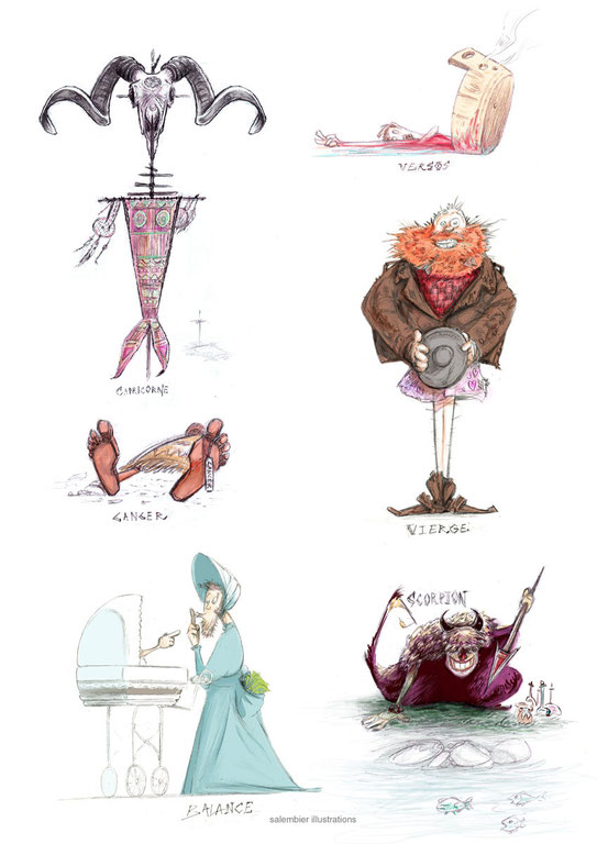 salembier illustrations