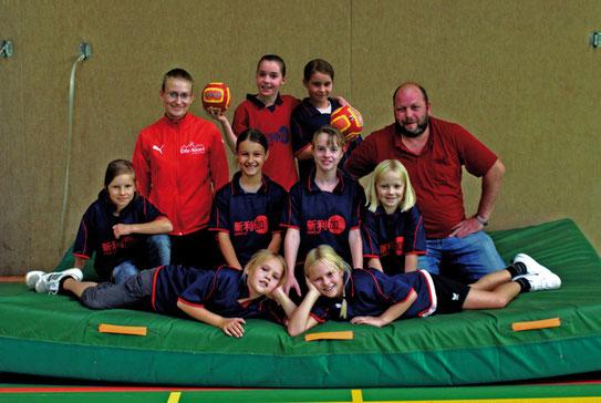 Weibliche E-Jugend - Saison 2010/11 - Jahrgang 2000/01