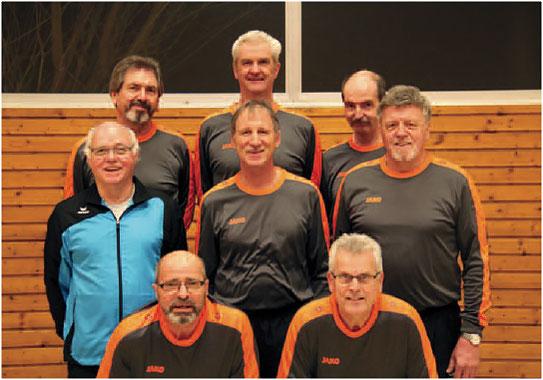 Mannschaft Männer 60