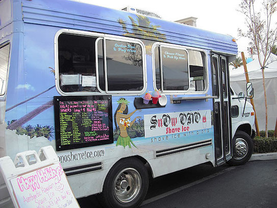 SnOw ONO Shave Ice Truck