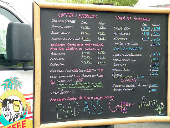 Bad Ass Coffee Truck