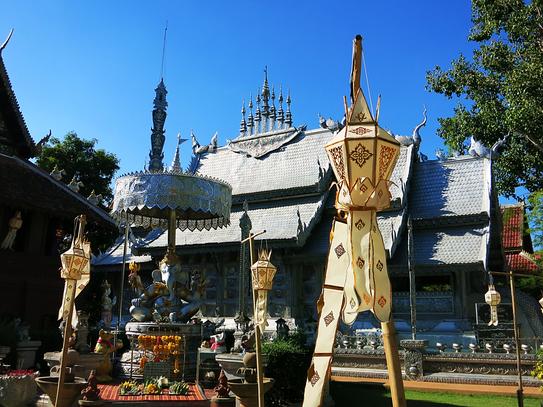 Wat Sri Suphan - Silberner Tempel in Chiang Mai