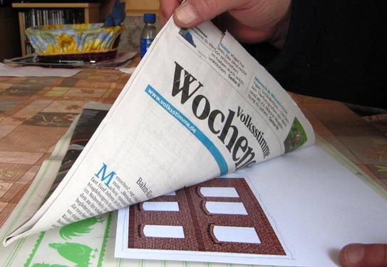 (c) W. Fehse - Dann die Zeitung schnell herunterziehen...