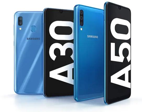 Samsung Galaxy A50 y A30 - Características y precio
