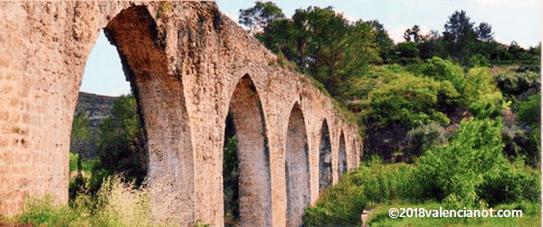 Puente romano (Xàtiva)  Comunidad Valenciana (España).
