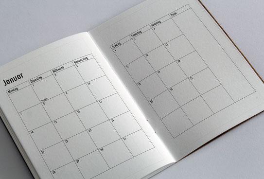 Kalender Monatsübersicht BuJo Bullet Journal Monatsziele