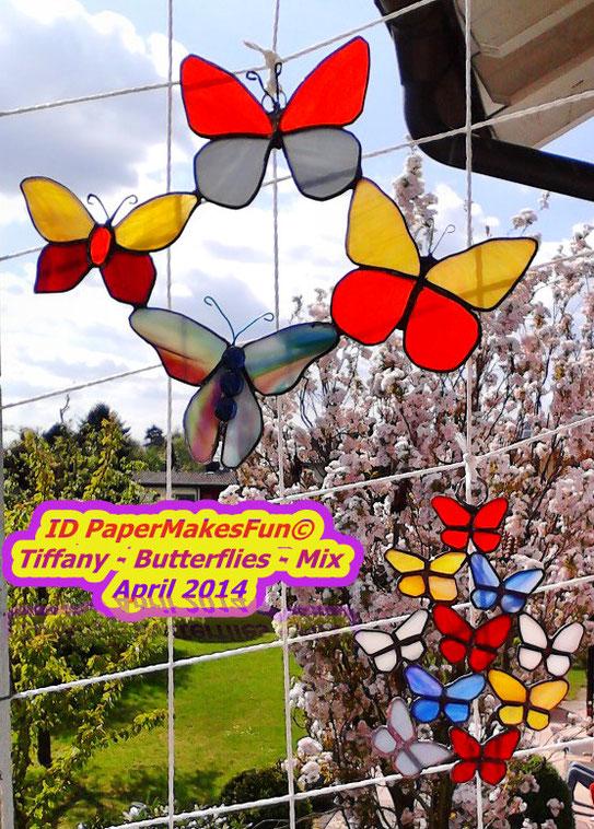 Tiffany - Butterflies - Mix