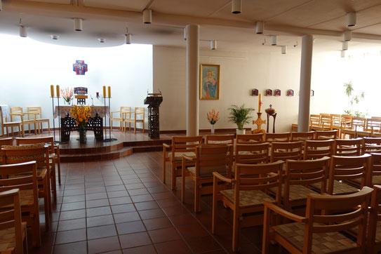 Im Josephinahemmet befindet sich auch die Kapellengemeinde St. Ragnhild