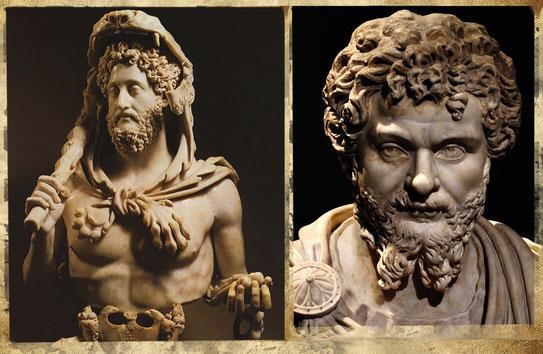Lucius Aurelius Commodus (Commode 161-192) /  Septimius Serverus (Septime Sévère  193-211)