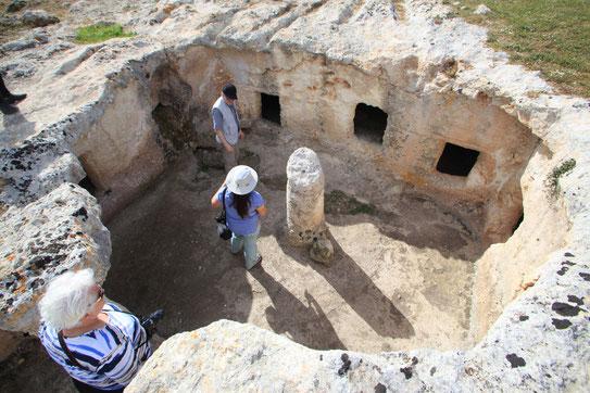 Hypogäum Sardinien Archäologie