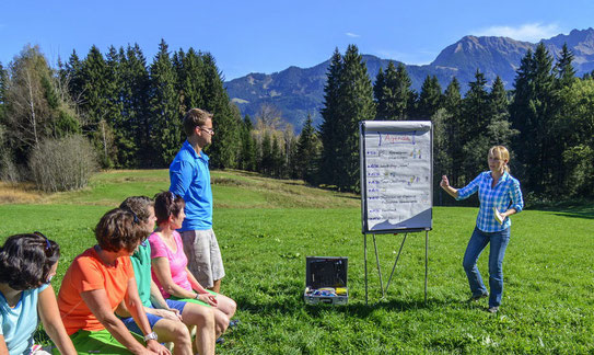 Outdoor-Trainings mit Alina Budai: Beratung, Coaching und Training