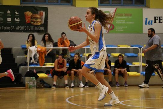 Alice Bergese in azione. Per lei 15 punti - Guido Fissolo ph.