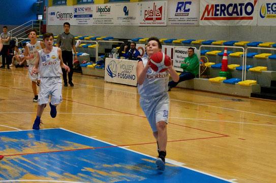 Stefano Rabbia top scorer acajotto con 14 punti - Marco Mondino ph.