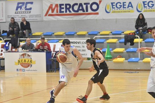 Gabriele Manassero in azione. Per lui 23 punti nel derby - Oreste Tomatis ph.