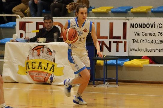 Anna Oggero in azione - Guido Fissolo ph.