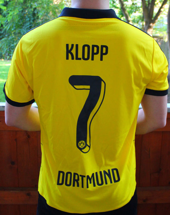 "BVB-Trikot ""Klopp 7"", Detektivbüro Dortmund, Detektive Dortmund, Privatdetektiv Dortmund"