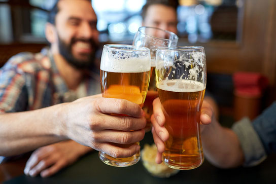 Alkoholkonsum steigert das Risiko für Bluthochdruck