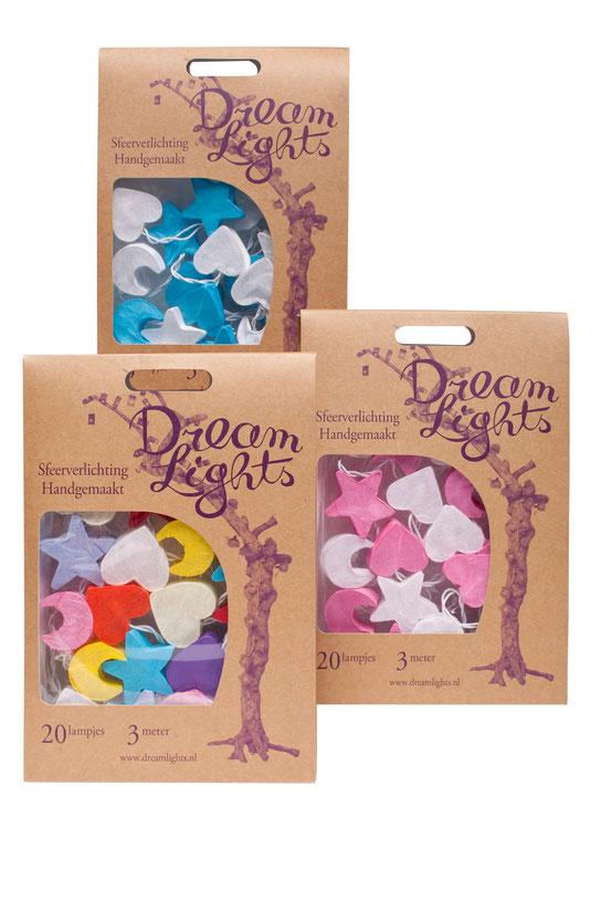 dream Lights ,Mond-Herz-Sterne in verschiedenen Farben,lichterkette für kinderzimmer