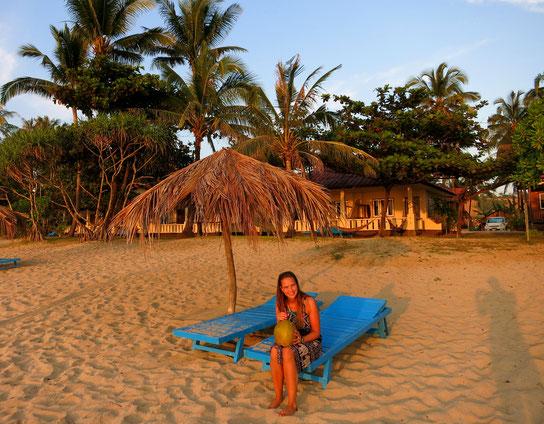 Strand vor dem Shwe Hin Tha Hotel