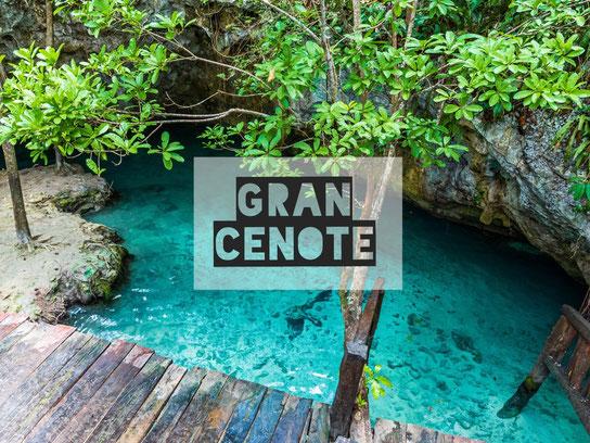 Gran Cenote, Mexiko, Tulum