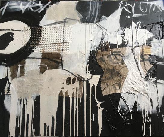 Abstrakte Malerei Bild Liebesbarometer