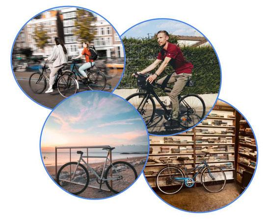 images rondes de vélos d'occasion