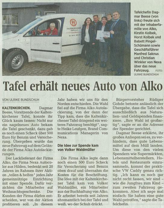 Segeberger Zeitung 21.11.2016